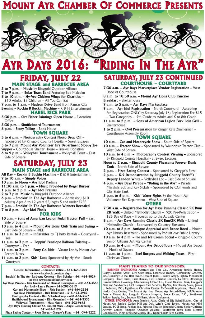 Ayr Days 2016